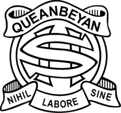 Queanbeyan High School校徽