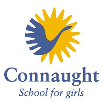 Connaught School for Girls校徽