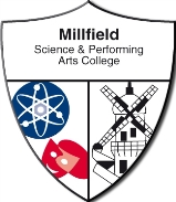Millfield Science & Performing Arts College校徽