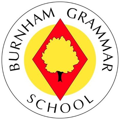 Burnham Grammar School校徽