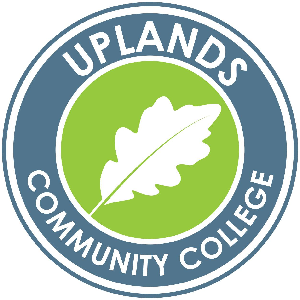 Uplands Community College校徽