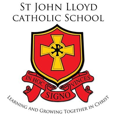 St John Lloyd Catholic Comprehensive School校徽