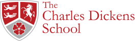 The Charles Dickens School校徽