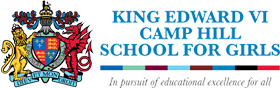 King Edward VI Camp Hill School for Girls校徽
