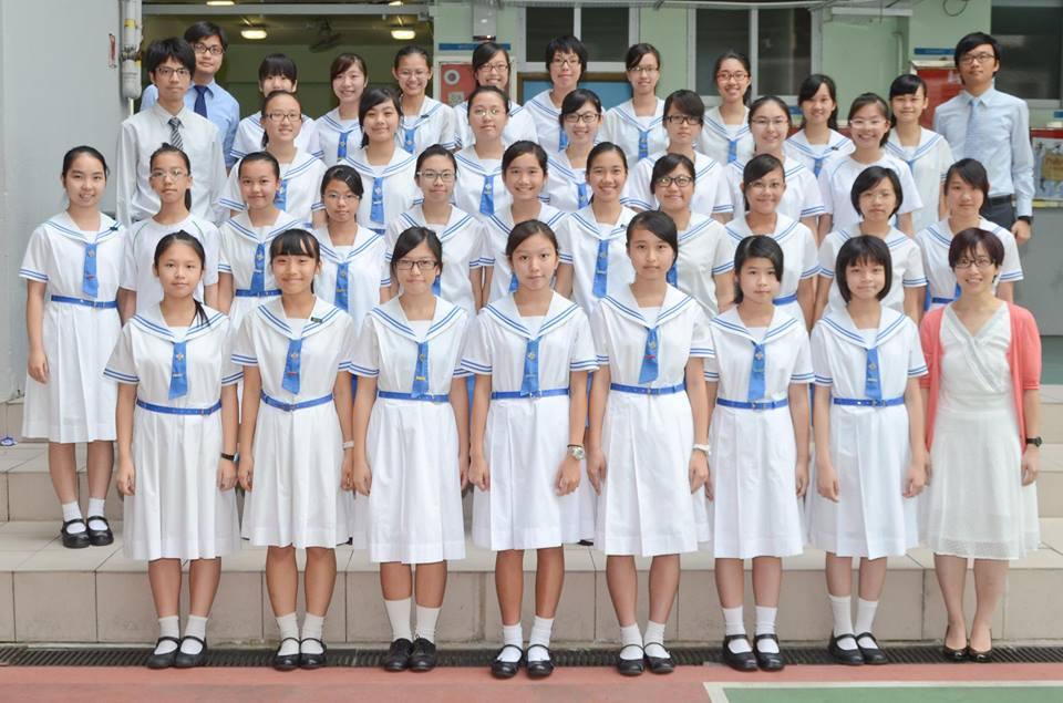 香港中學各類型制服討論(3) — 水手服連身裙
