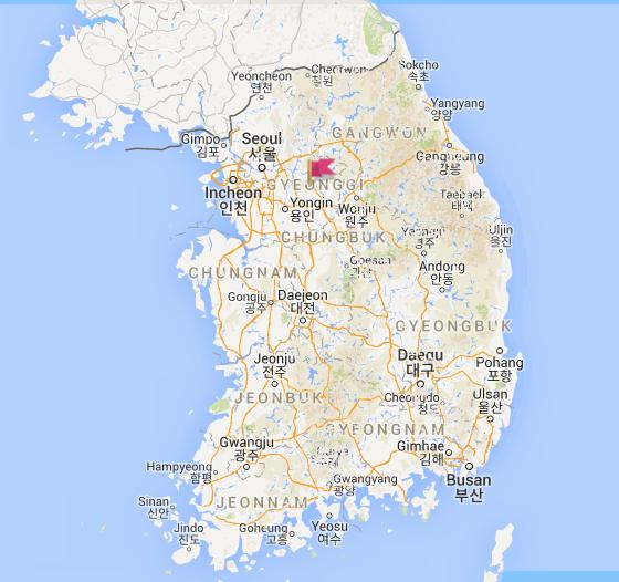 韓國中學制服地圖