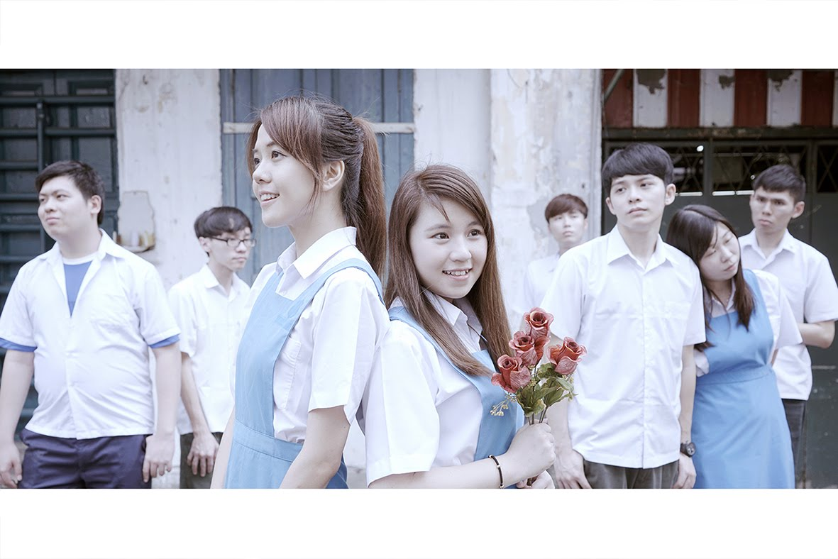 馬來西亞制服妹MV 《聽見癡情的他說愛你》