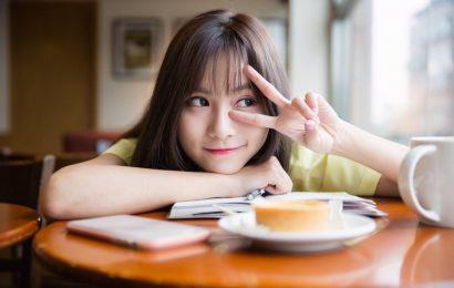 笑容甜美的可愛女孩小潔 攝影: 史旺基