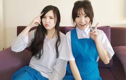 台灣女孩穿馬來西亞經典中學制服