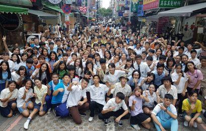 40所高校300名學生齊聚一堂,破紀錄的「中平商圈熱舞高校」影片拍攝紀實