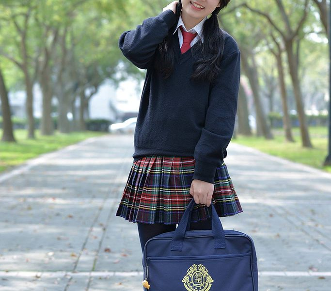 治平高中冬季制服 攝影: Chien Muh