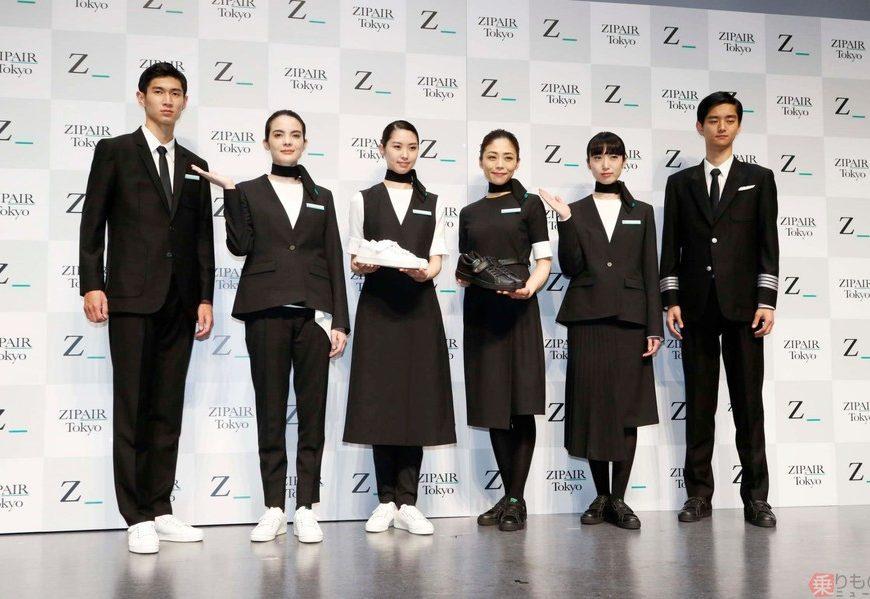 JAL旗下新廉航ZIPAIR公布制服樣式