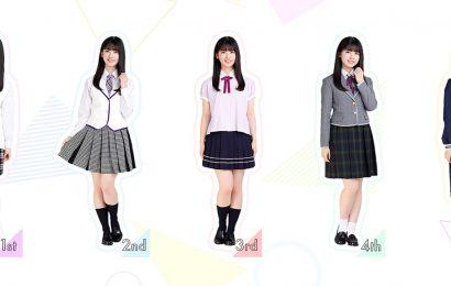 乃木坂46 的制服展示企劃『筒井あやめ 制服コレクション』
