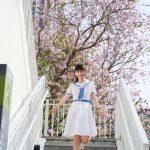 【Saki in HK School Uniform Vol.14】2018追花 寶血會上智英文書院 (MD:Saki 小崎,攝影師:楊聰聰攝影速報)