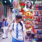【Hong Kong School Uniform Vol.1】有個貴族朋友在硬幣背後 寶血女子中學 (MD:Charles*Hau,攝影師:Junjou Aesthetics 純情美學)