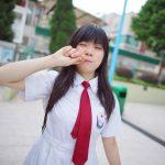 【Hong Kong School Uniform Vol.4】俏皮小花 明愛莊月明中學 (MD:小花,攝影:Junjou Aesthetics 純情美學)