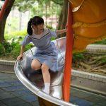 【Saki in HK School Uniform Vol.12】廣源村 聖公會林護紀念中學 (MD:Saki 小崎,攝影:楊聰聰攝影速報)