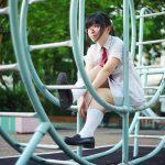 【Saki in HK School Uniform Vol.11】 大埔 明愛莊月明中學 (MD:Saki 小崎,攝影:Wilsoncosplayphoto)